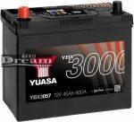 YUASA 12V 45Ah 400A B+ (YBX3057)