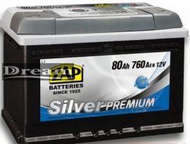 ZAP Silver Premium 12V 80Ah 760A J+