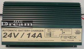 Forex Akkumulátor töltő  T2414B 24V 14A