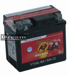 Banner Bike Bull AGM YTX5L-BS