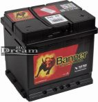 Banner Starting Bull 12V 45Ah 400A jobb+ (190mm)