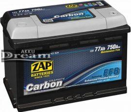 ZAP Graphite Carbon EFB 12V 77Ah 750A Jobb+