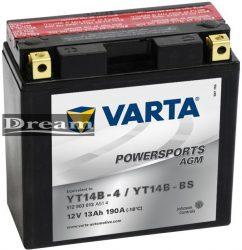 Varta Powersports YT14B-BS (YT14B-4)