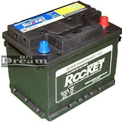 Rocket 12V 55Ah 440A J+(Kia, Hyundai gyári akku) 190mm