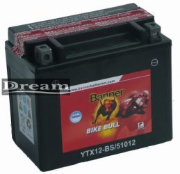 Banner Bike Bull AGM YTX12-BS