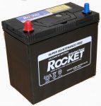 Rocket 45Ah 430A B+ vékony sarú