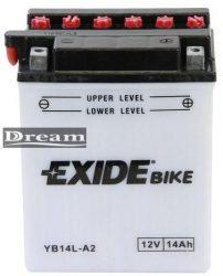 EXIDE Bike YB14L-A2 (134*89*166)