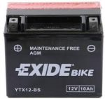 Exide Bike YTX12-BS