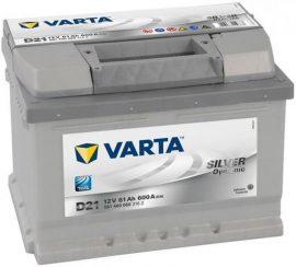 Varta Silver Dynamic akkumulátor 12V 61Ah 600A J+