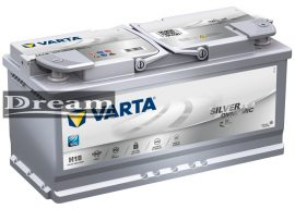 Varta Silver Dynamic AGM 105Ah 950A J+
