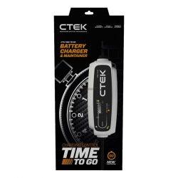 CTEK 12V CT5 TIME TO GO töltő hátralévő töltési idő visszajelzővel