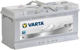 Varta Silver Dynamic akkumulátor 12V 110Ah 920A J+