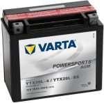 Varta Powersports YTX20L-BS