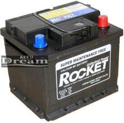 Rocket 12V 43Ah 420A J+ (Kia, Hyundai gyári akku) 175mm
