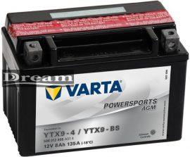 Varta Powersports YTX9-BS