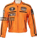 Nyári motoros kabát BOS 6488 narancs