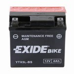 Exide Bike YTX5L-BS