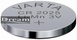 Elem fotó és kalkulátorelem CR2025