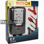 Bosch C7 12V/24V 7A Akkumulátor töltő
