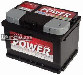 Electric Power 60Ah 500A Jobb+
