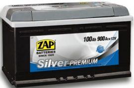 ZAP Silver Premium 12V 100Ah 900A J+ (Gondozásmentes)