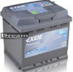 Exide Premium 53Ah 540A EA530