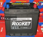 Rocket 65Ah, 580A, J+ (Dél-koreai) 75D23L (55D23L-MF)