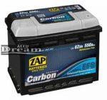 Zap Carbon EFB Start-Stop 12V 62Ah 550A 56205 J+ autó akkumulátor